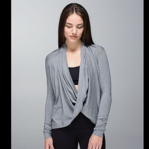 Lululemon iconic wrap heathered medium grey
